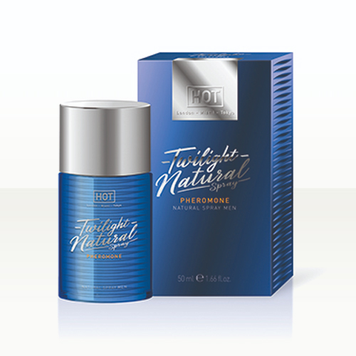 HOT Man Twilight Phéromones Natural Spray 50ml