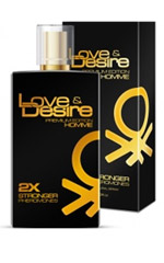Love & Desire GOLD 2 fois plus concentré for Men 100 ml EdP