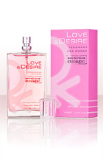 Love & Desire for Women 100 ml EdP avec phéromones