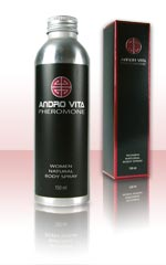 Andro Vita women natural body spray Phéromones 150 ml