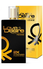 Love & Desire GOLD 2 fois plus concentré for Women 100 ml EdP